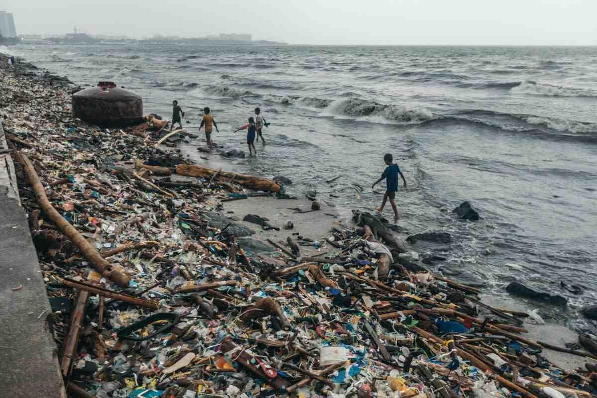 Quand la pollution marine a-t-elle commencé?