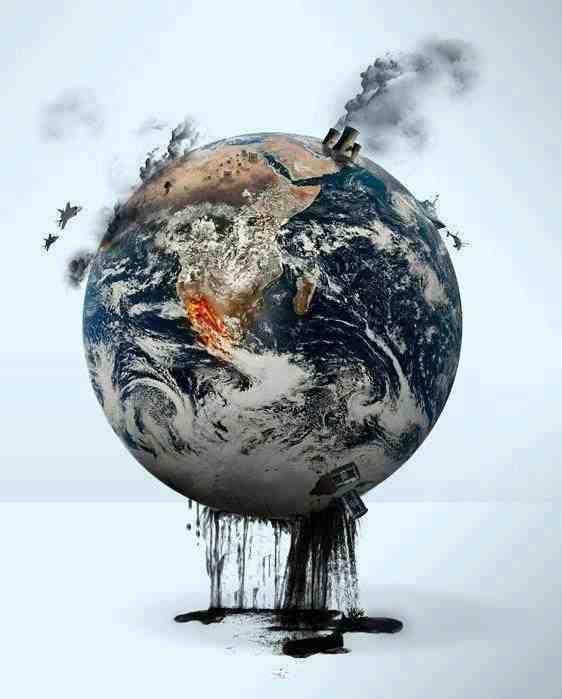 Qui pollue la terre?