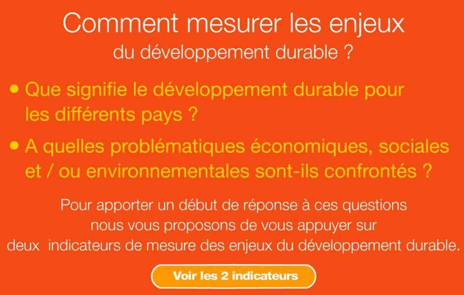 Quels sont les enjeux du développement ?