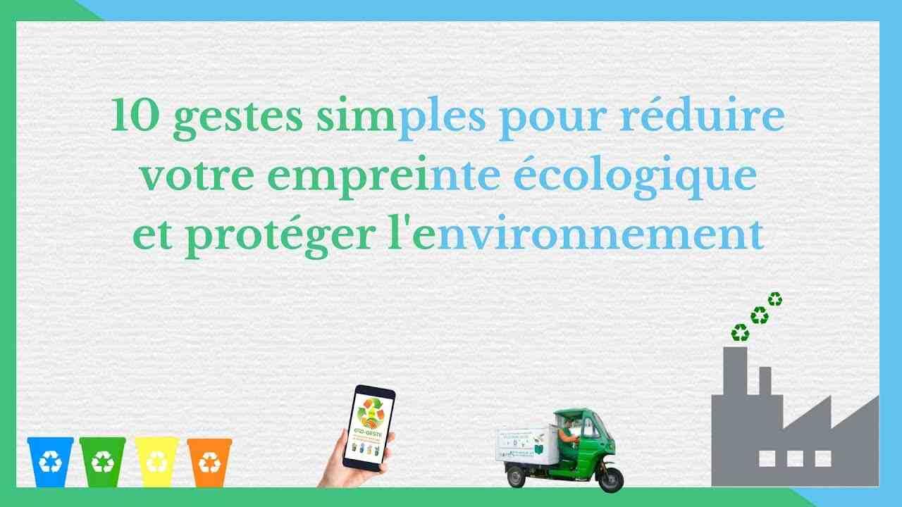 Quelle est l'importance de l'environnement dans notre vie?