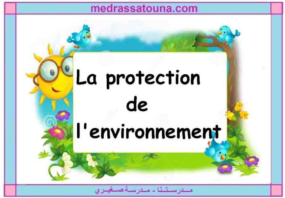 Pourquoi et comment protéger l'environnement ?